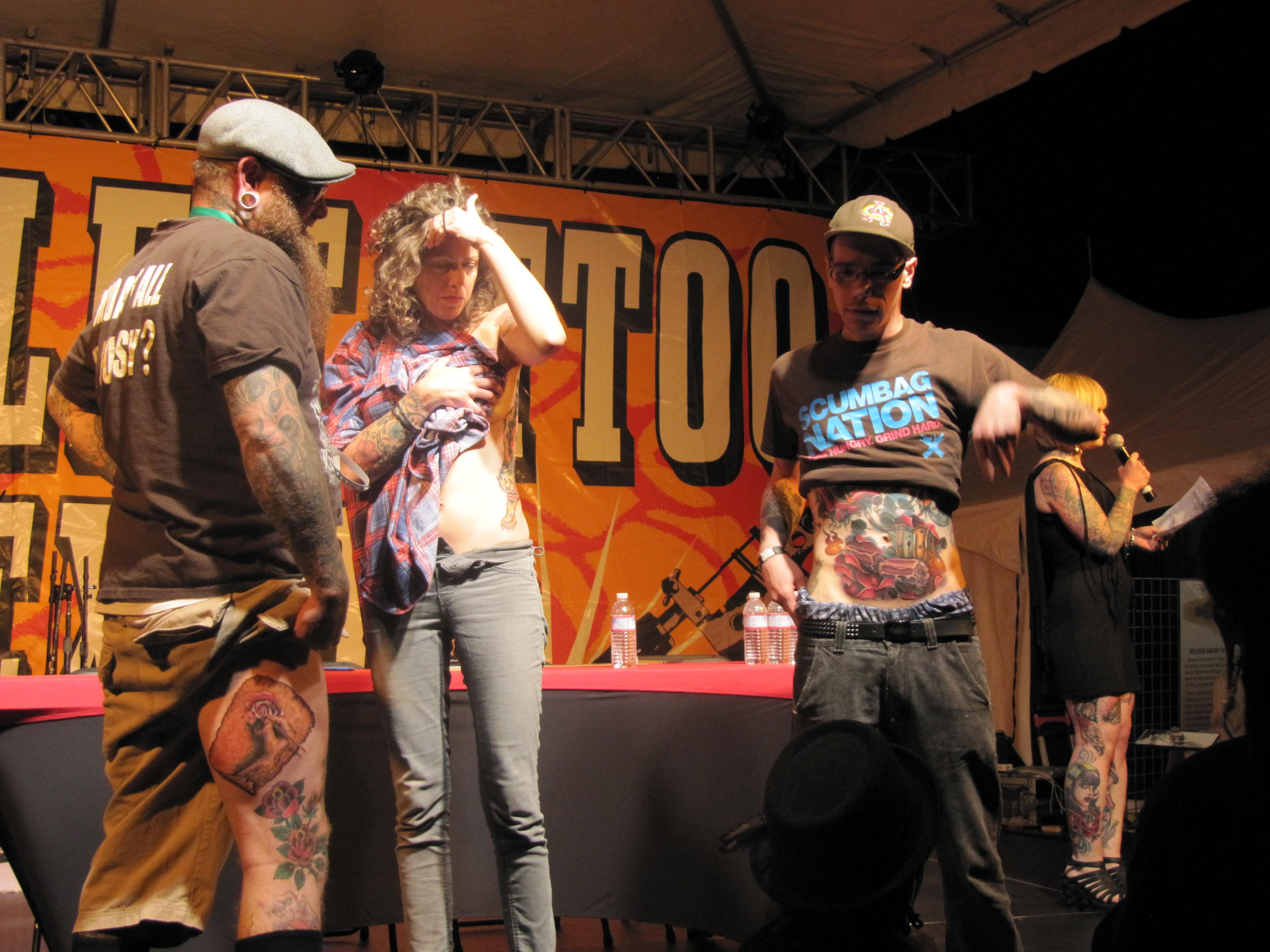 Seattle Tattoo Expo Best Tattoo Contest winners | Streetzblog.com