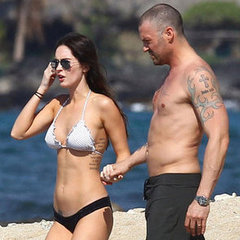 Megan Fox and Brian Austin Green Visit the Big Island 2-22-12