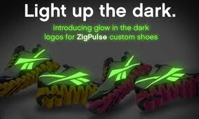 Custom Glow in the Dark Reebok Kicks 3-19-12