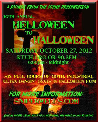 Hello to Halloween 2012-sniperwells.com