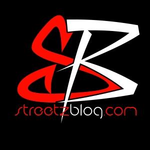 StreetzBlog Logo black bg