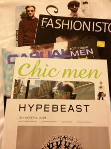 Today's Haul-2x Chic Men, Hypebeast, Fashionista, and Casual MEN
