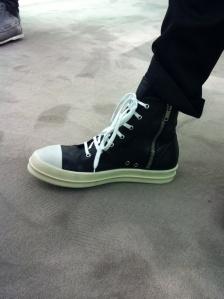 Rick Owens on my feet-Strteetzblog.com