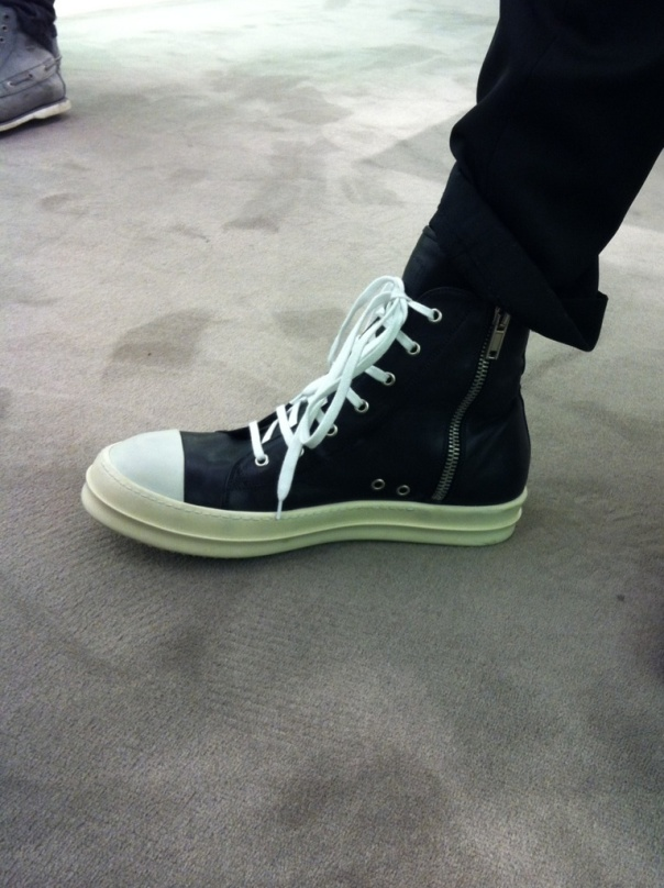 Rick Owens on my feet-Strteetzblog.com