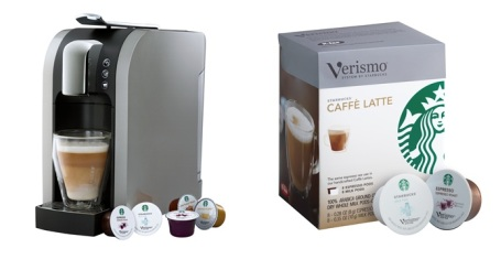 The Verismo Coffee maker  By Starbucks
