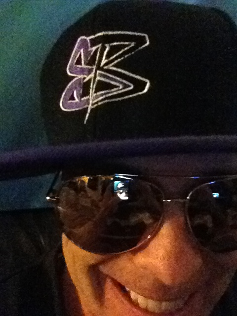 Streetzblog SnapBack Purple and Black - Very Limited Edition (only 1 produced) January 2013