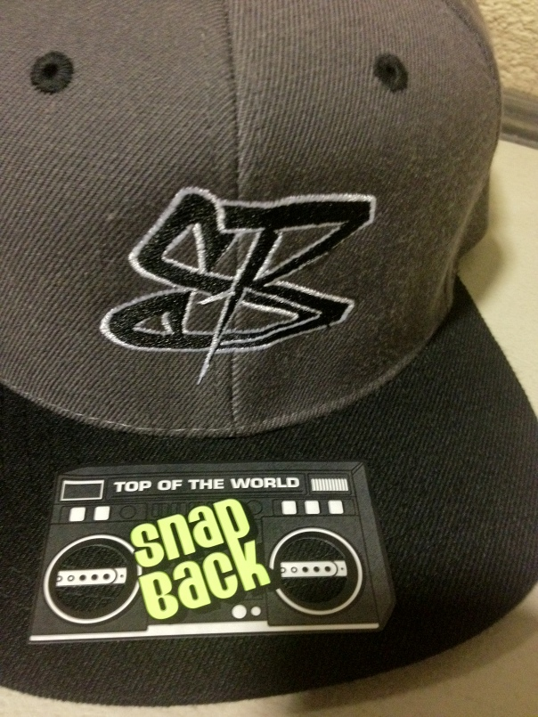 Streetzblog SnapBack Grey and Black Very Limited Edition One of One Produced January 2013