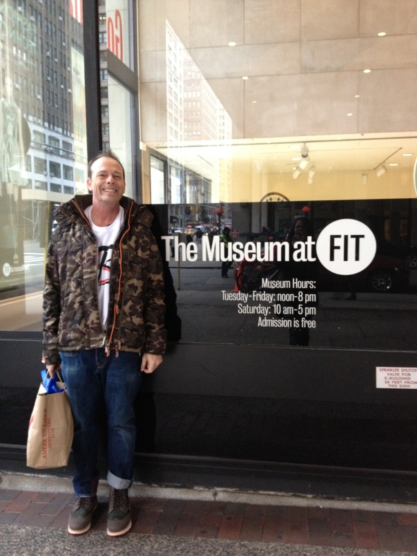 Streetzblog Outside of the Museum at FIT NYC DEC 2012
