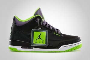 Air Jordan 111 Black-Electric Green..Photo courtesy of hypebeast.com