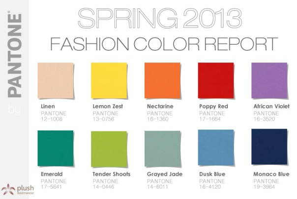 Pantone-Color Report-Spring 2013