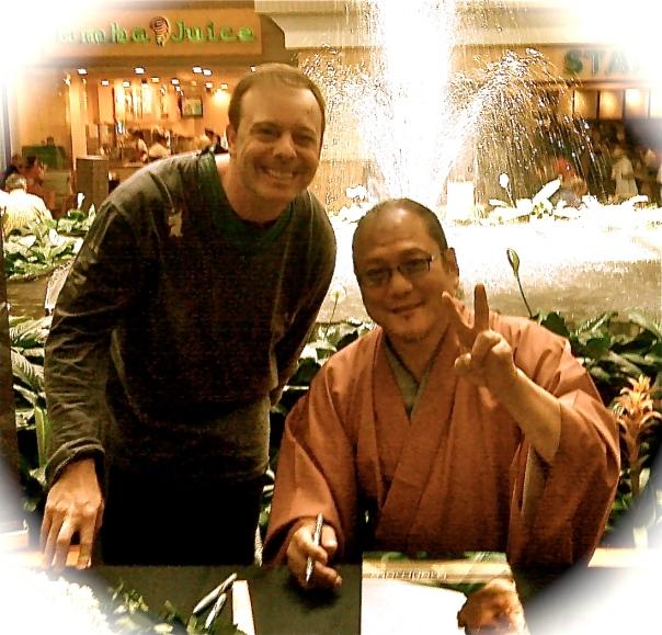 Scott Mackenzie & Iron Chef Morimoto-November 2010-Streetzblog.com