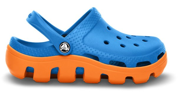 Crocs in New York Knicks Colors-March 2013