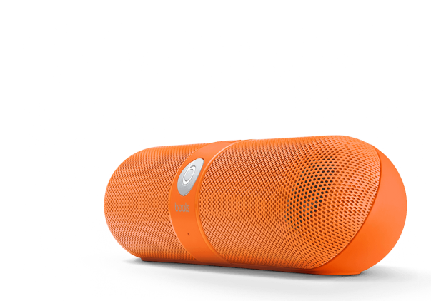 Beats-Pill-Neon Orange-streetzblog