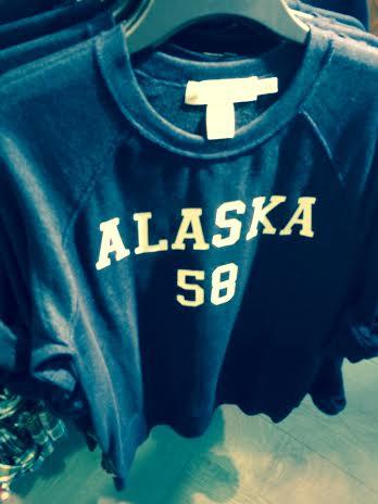 Alaska Shirt in Hawaii-H&M Waikiki