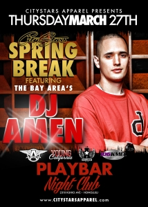 DJ Amen Flyer