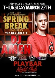 DJ Amen Flyer