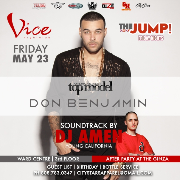 DON BENJAMIN DJ AMEN HAWAII IG