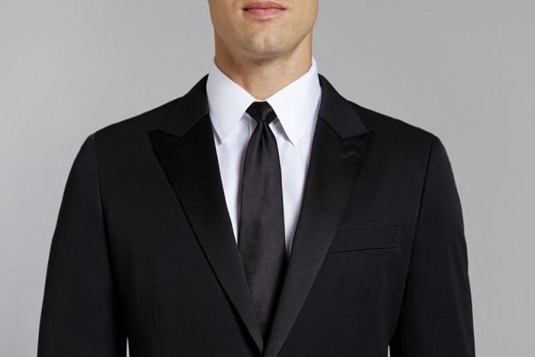 Black Tie means Black tie. This is what you should be wearing. You can always turn it up a bit with a fancy pocket square.