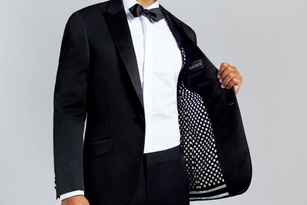 Another Black tie Affair Suit/Tux. This one with a very nice lining.