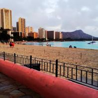 Waikiki Just Before Sunset