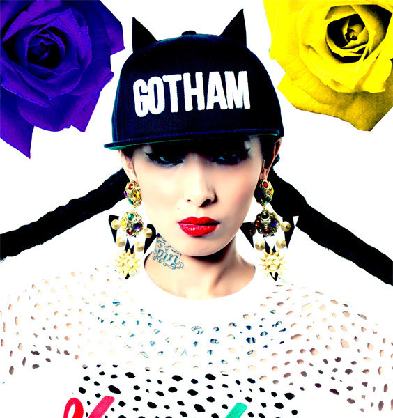 Gotham Hat at Patricia Field 2014