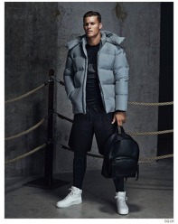 The Puffy or Puffer Jacket in grey. The most sought after piece so far and we just received the pix today.