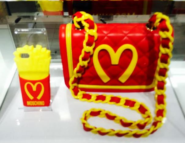 Moschino iPHone Case and Hand Bag-2014-streetzblog.com