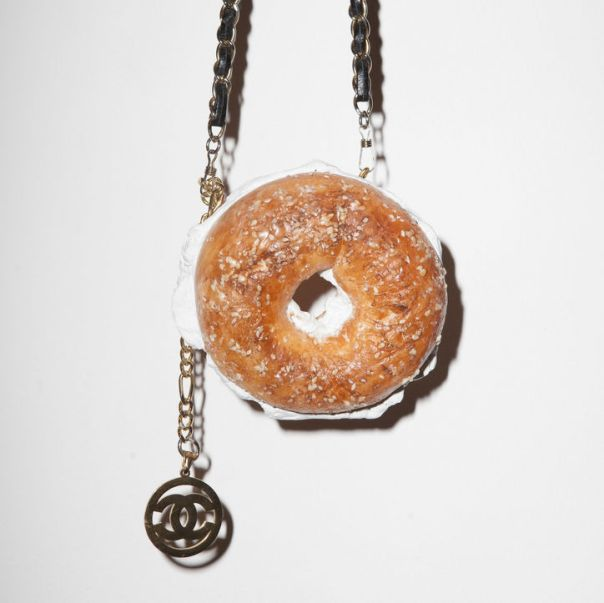 Not Chanel Bagel Bag