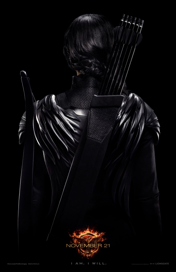 Katniss - Rebel Warrior Poster