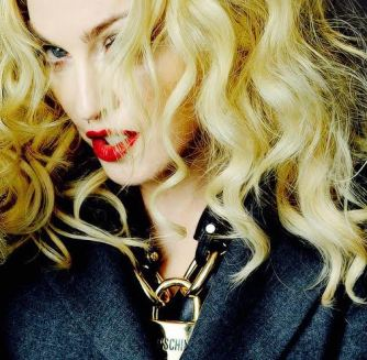 Madonna with Moschino
