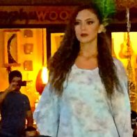 Model at the Royal Hawaiian Center Runway Show 2014 -Streetzblog.com