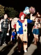 Clown with his buddies