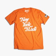 Orange T-Black Apple x NY Knicks