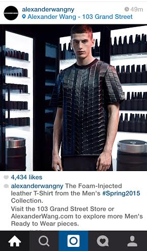 Alexander Wang Foam Injected T shirt