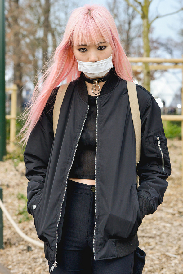 Cotton Candy Colored Hair. Picture courtesy of style.com