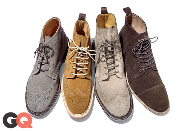 Suede Boots. Picture courtesy of GQ.com
