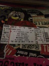 My Ticket