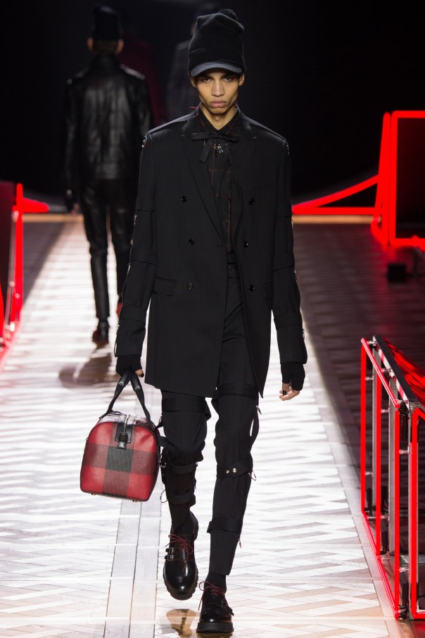 Dior Homme strapped pants