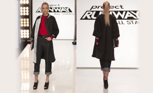 Kini Zamora Project Runway All stars back