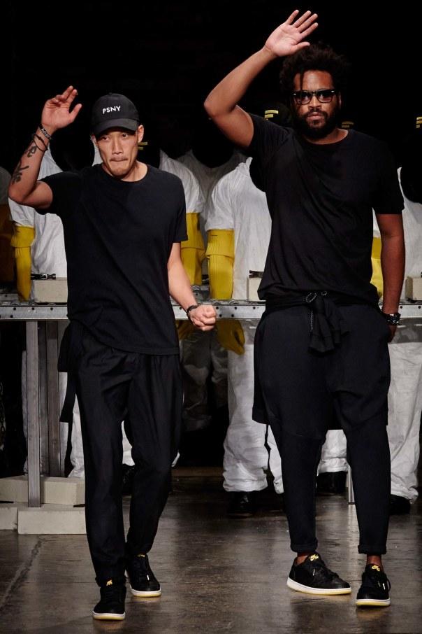 The Designers in their new PSNY x Jordan 1's