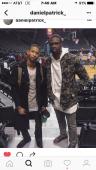 Kortney William & NBA starLuol Deng