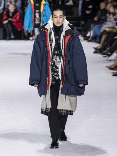 Balenciaga Layered Jacket