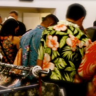 Jam packed at the Aloha Shirt Section