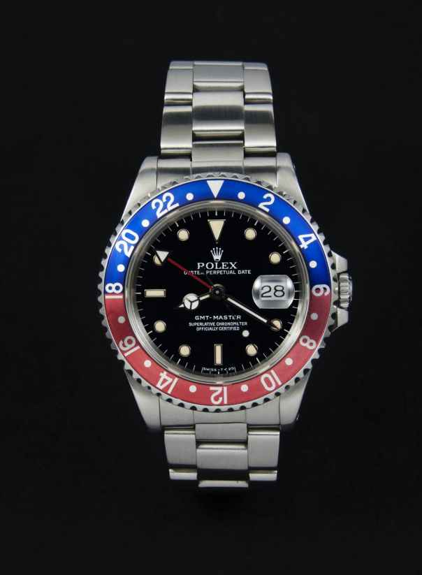 luxury clock wrist watch gmt master